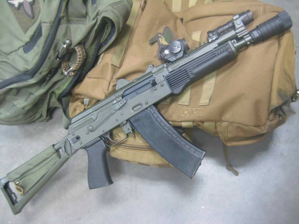 Rifle Dynamics AK rifle Chambered in 5 45x39 with an Ultimak gas