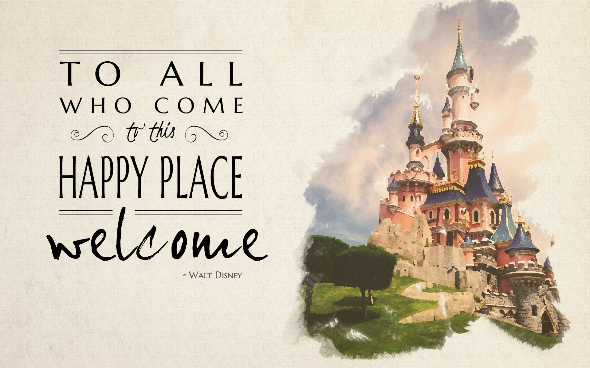 Walt Disney Stock Quote Favorite Walt Disney Quote  To All Who Come To This Happy Place