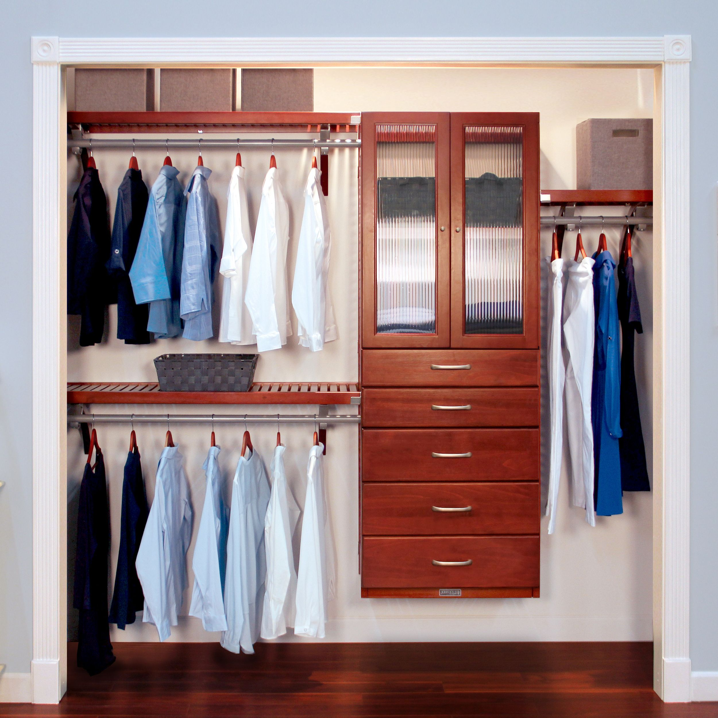 16in deep deluxe organizer 5 drawers 6 8in deep