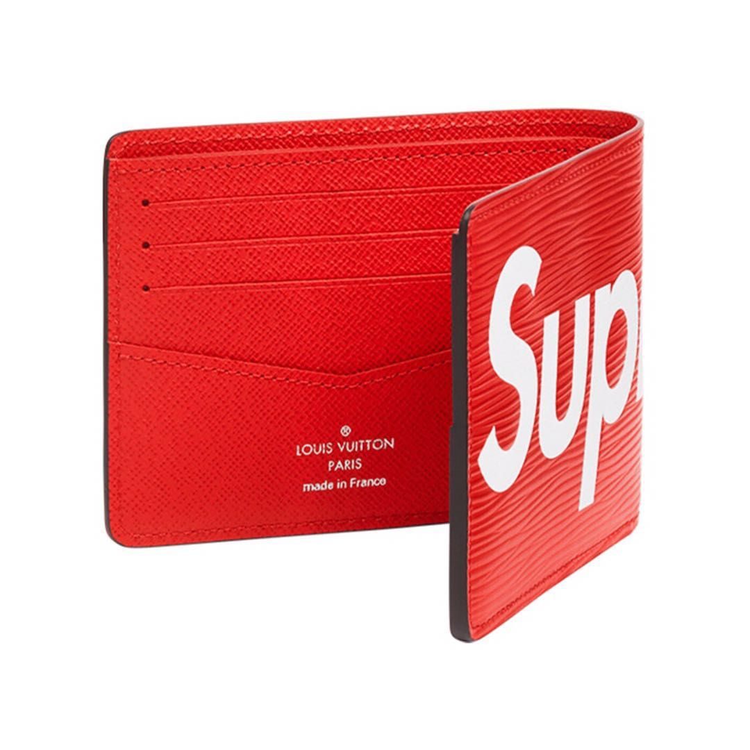 1a3c99022eea Supreme x LV Wallet (Red)