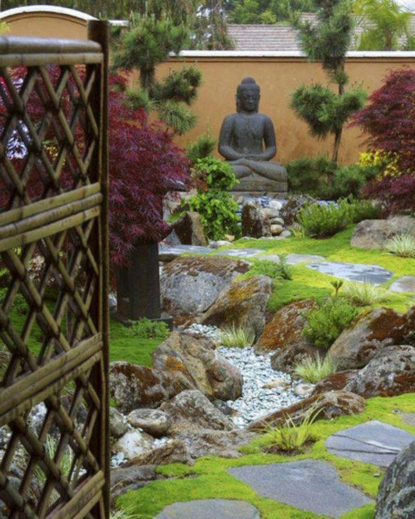 Buddha Figuren Im Garten Verwohnen Sie Ihren Geist Buddha