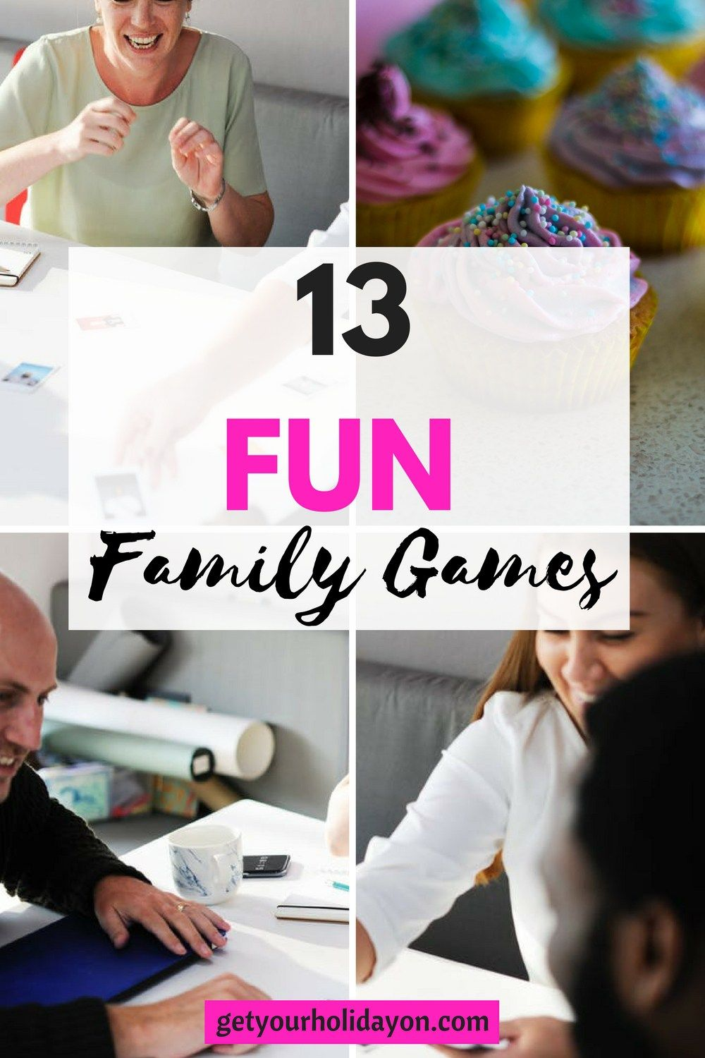 13 Fun Family Games | Family fun games, Gaming and Holidays