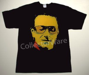 U2 Bono drawing 2 CUSTOM ART UNIQUE T-SHIRT Each T-shirt is individually hand-painted, a true and unique work of art indeed!  To order this, or design your own custom T-shirt, please contact us at info@collectorware.com, or visit http://www.collectorware.com/tees-U2.htm