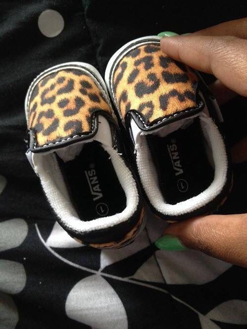vans leopardo niña