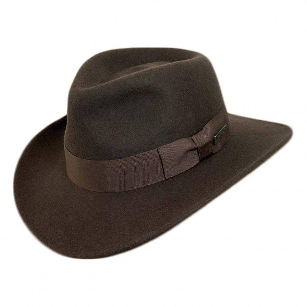 81333147d10ec Indiana Jones Hats Promotional Fedora - Brown