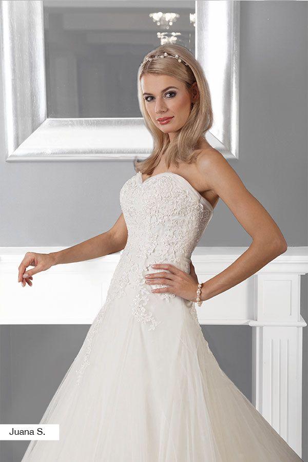 Brautkleid Juana aus der Lohrengel Lignesse Brautmoden Kollektion ...