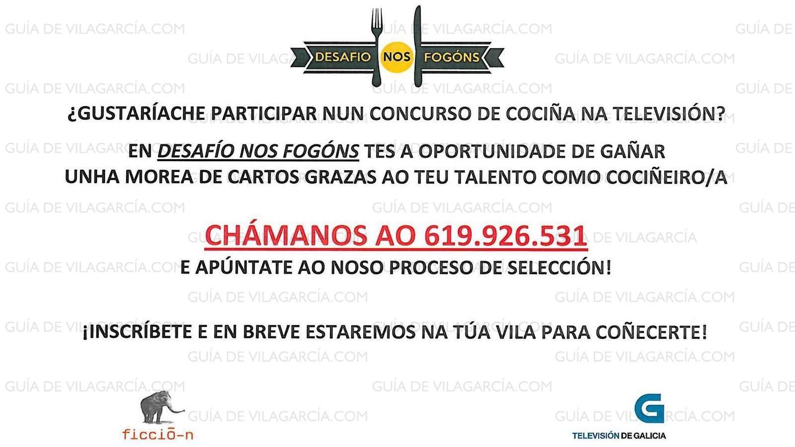CASTING TVG oc'15 | Guía de Vilagarcía