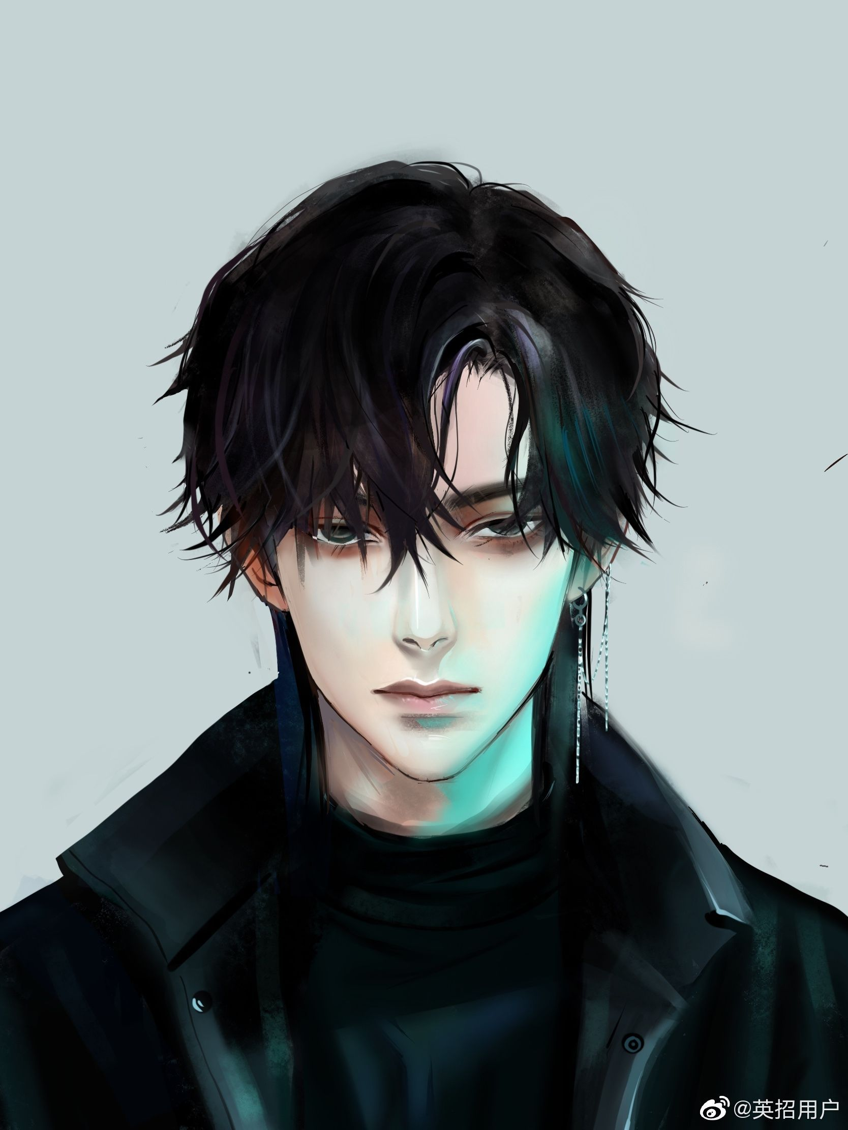 Yibo Wang Wallpaper Yibo Wang In 2020 Dark Anime Guys Anime Drawings Boy Anime Guys