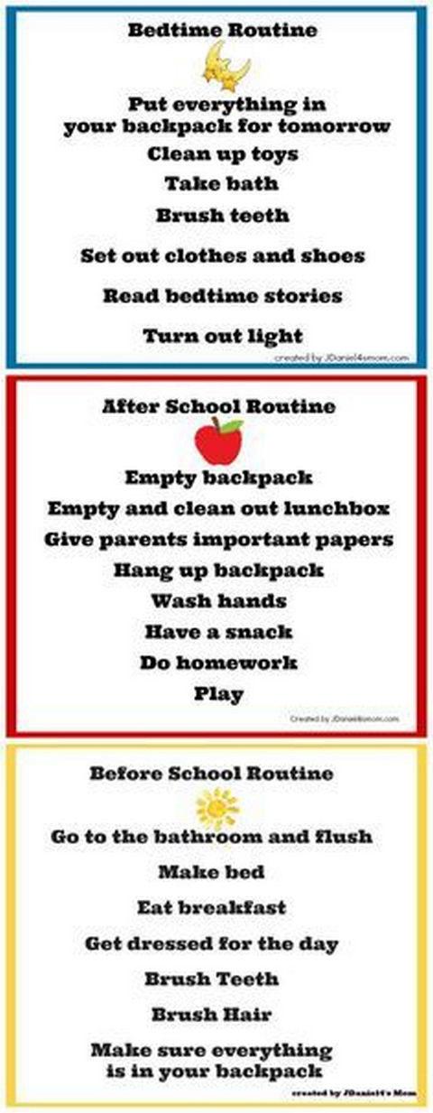 Free Sample And Fun Chore Chart Kids  Chart Organizing And