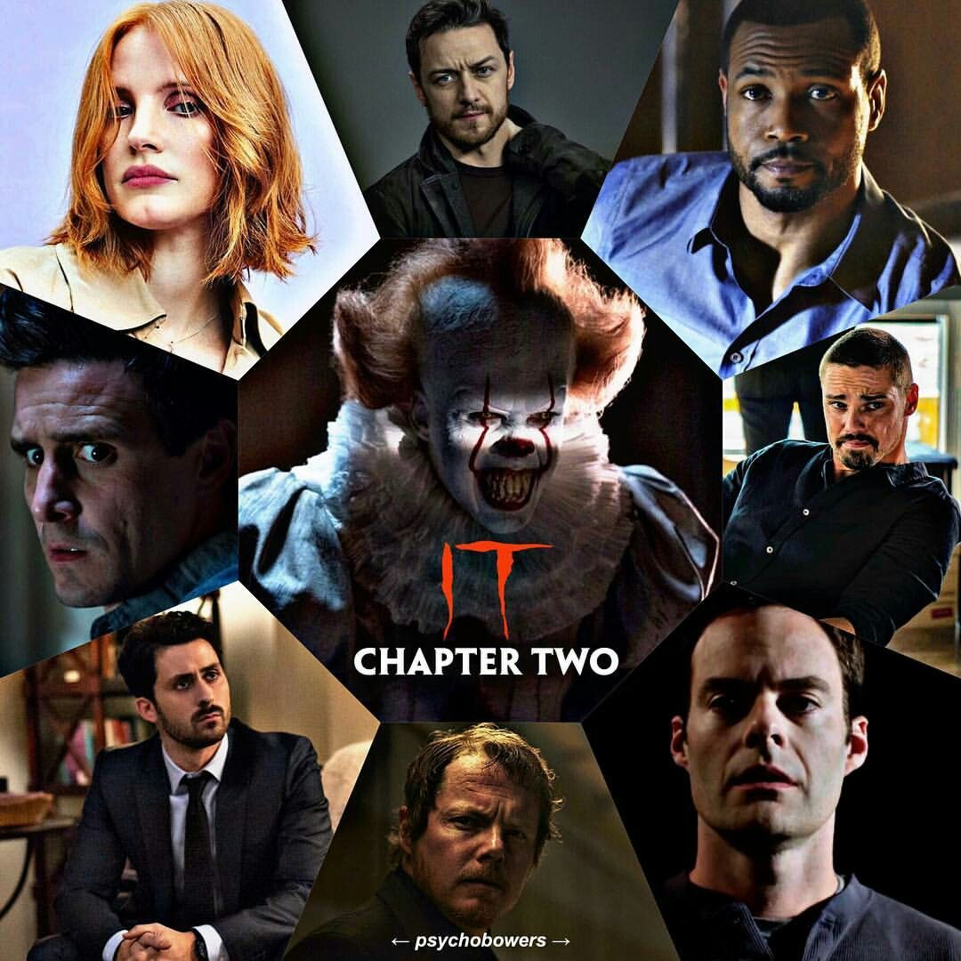 Holy Shittttt Cast For It Chapter 2 Pennywise It2019 Chapter2 Billskarsgard Stephen King Movies Pennywise The Dancing Clown Dance Movies