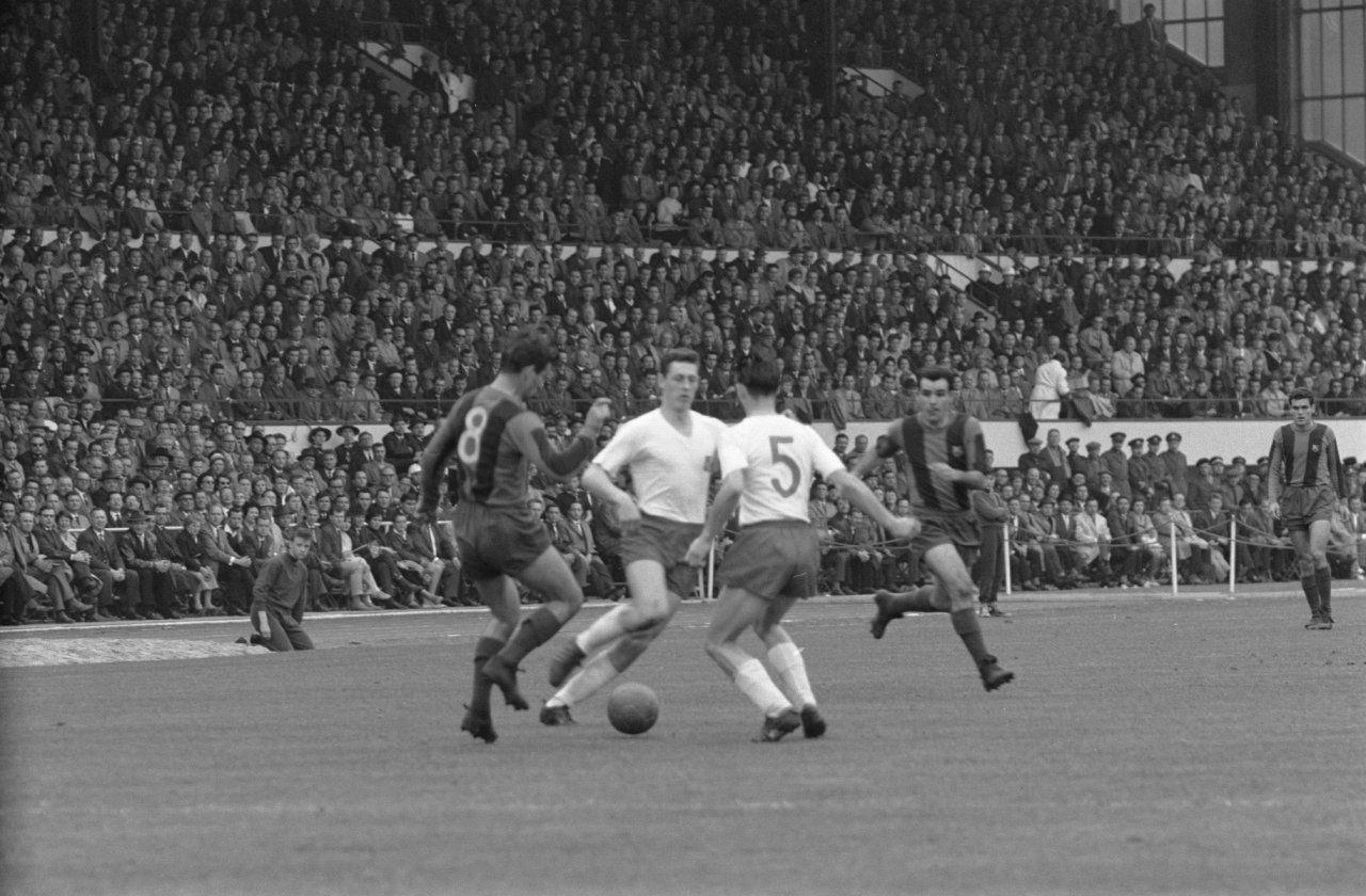 Europapokal 1961. HSV scheitert im Halbfinale an Barcelona