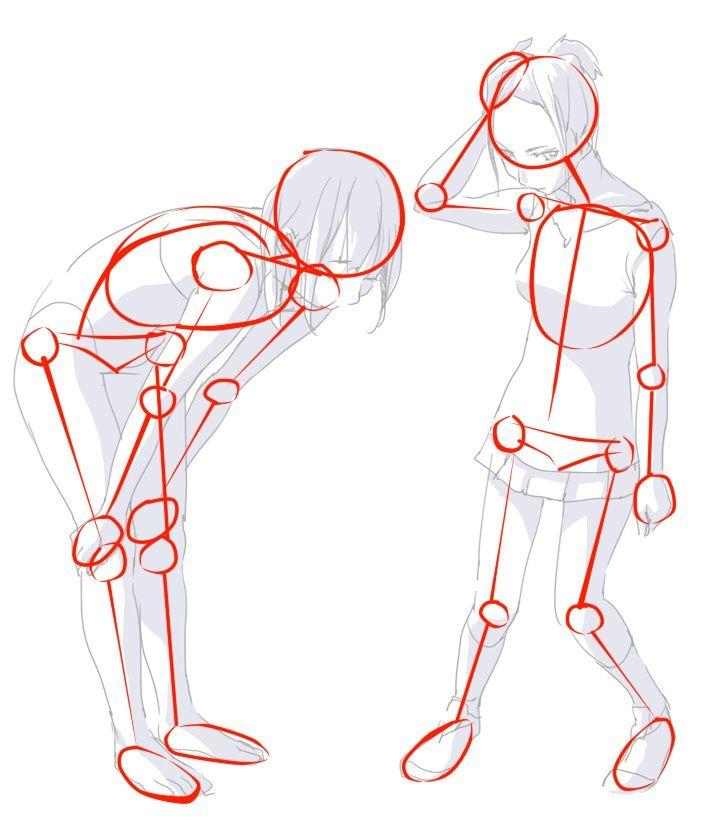 El cuerpo humano - Tutoriales de Anatomía en Dibujo Tradicional ...