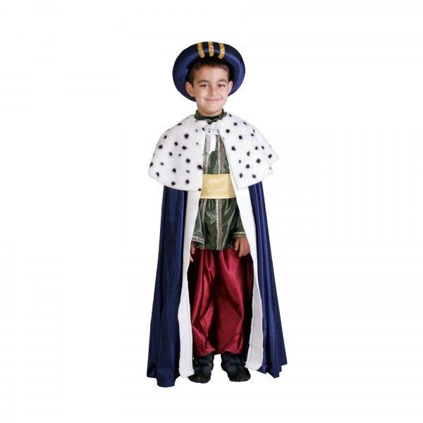 d881364a5970f Disfraz de rey mago Baltasar para niño
