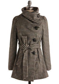 Carefully Chosen Coat, #ModCloth lo voglioooooooo