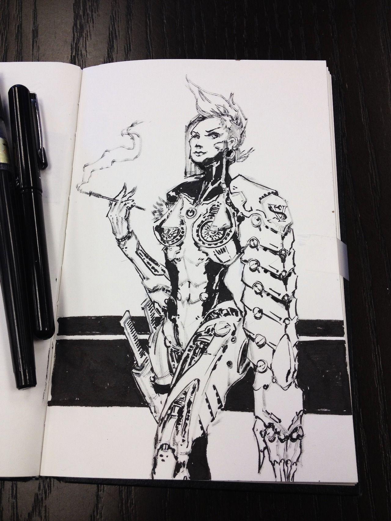 Super Robot Bomber, Samus, some cyberpunk femme fatale and a...