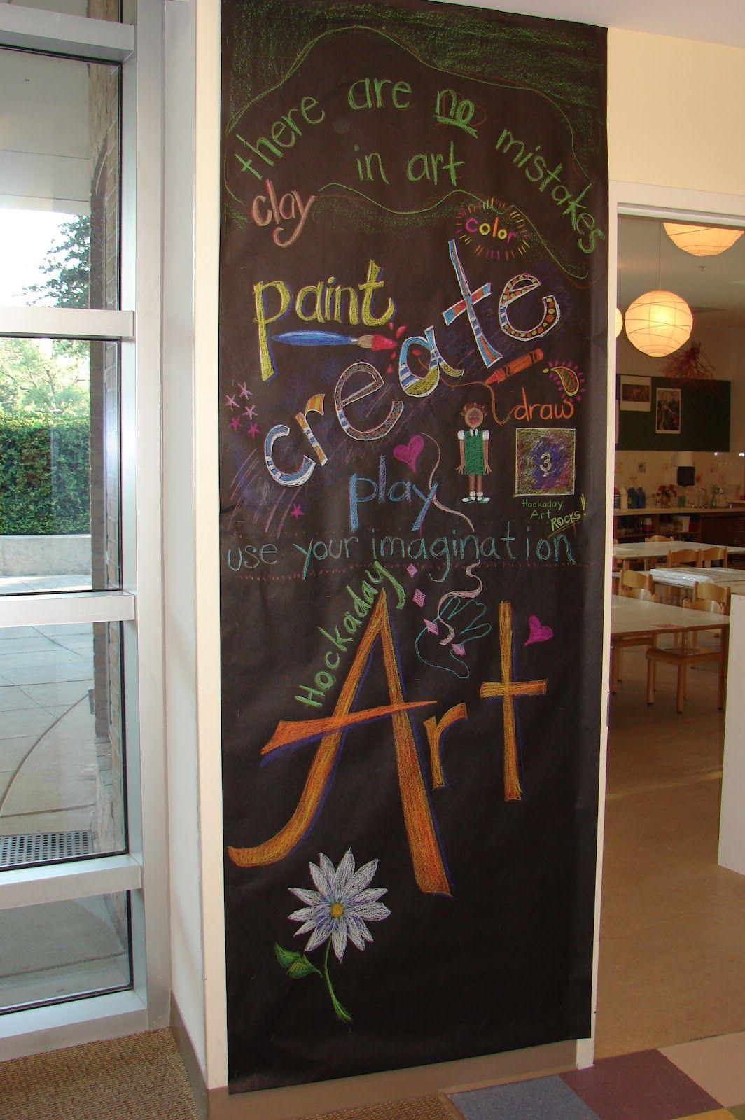 Elementary Art Bulletin Board Ideas