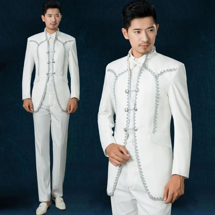 White european court 2017 new arrival men suit mens suits wedding ...