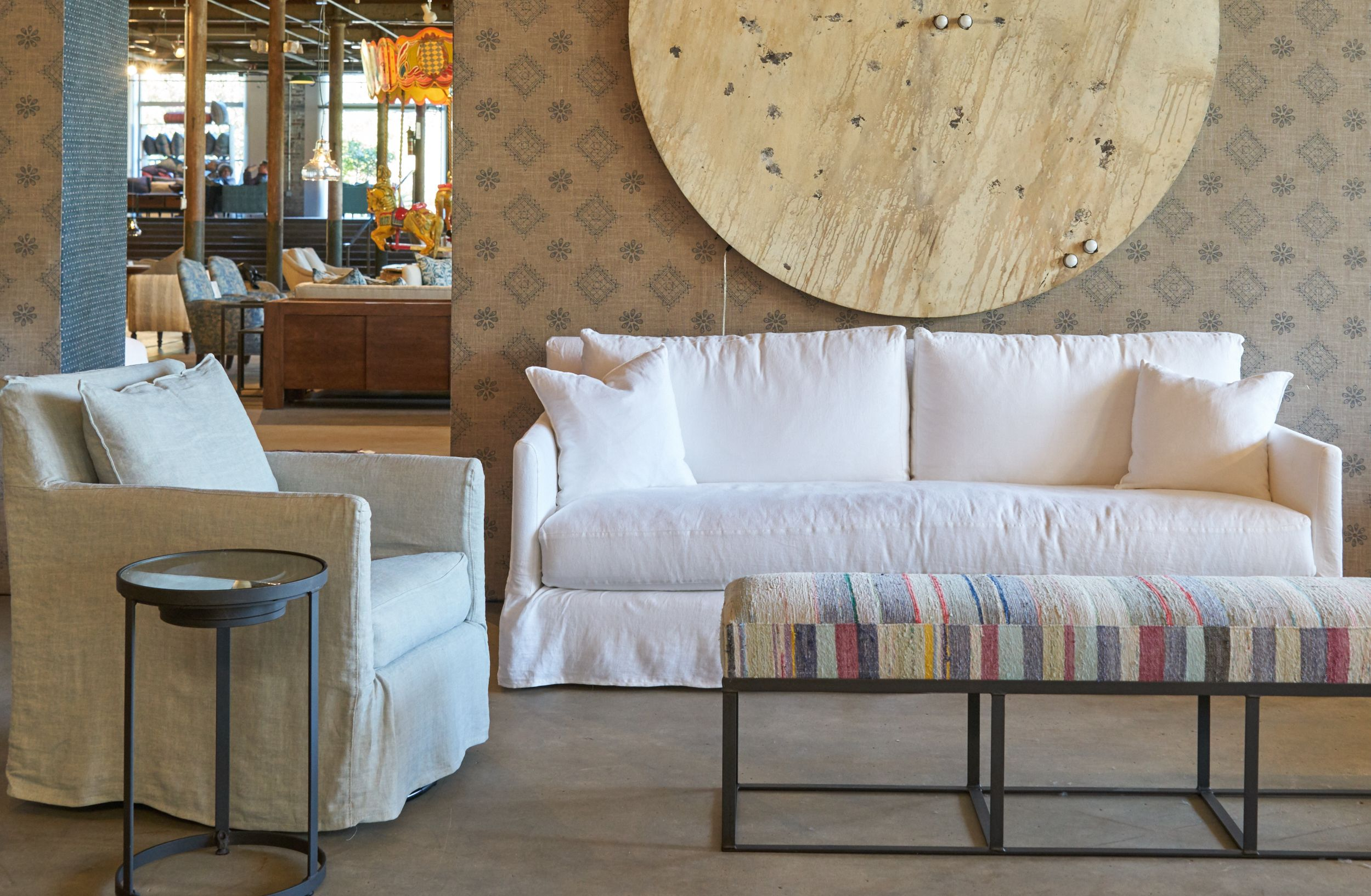 Alpine Sofa And Chair By Cisco Home
