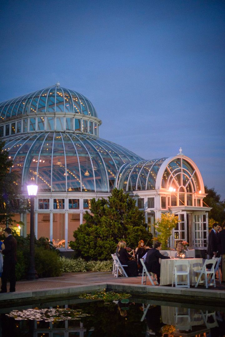 Botanical Garden Style Brooklyn Wedding #botanicgarden