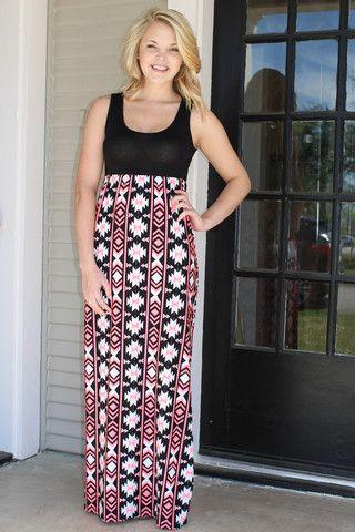 Highlights of Life Maxi Dress - Pink