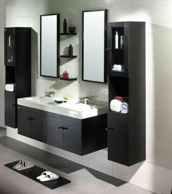 34++ Modern black bathroom wall cabinets model