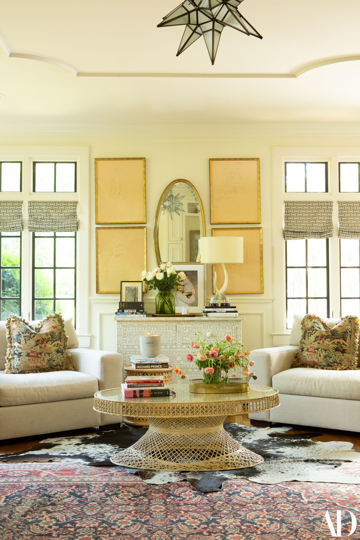 Lily Aldridge s Nashville Home Makes a Case for Bold Antiques