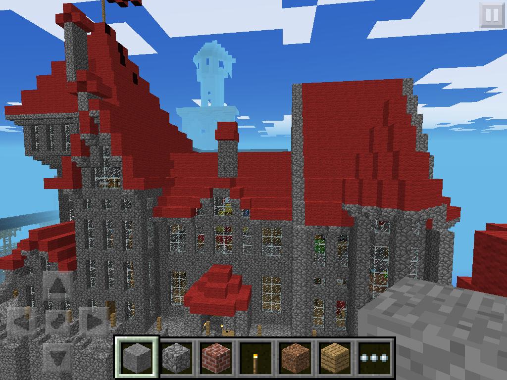 Epic castle world minecraft pocket edition minecraft pocket