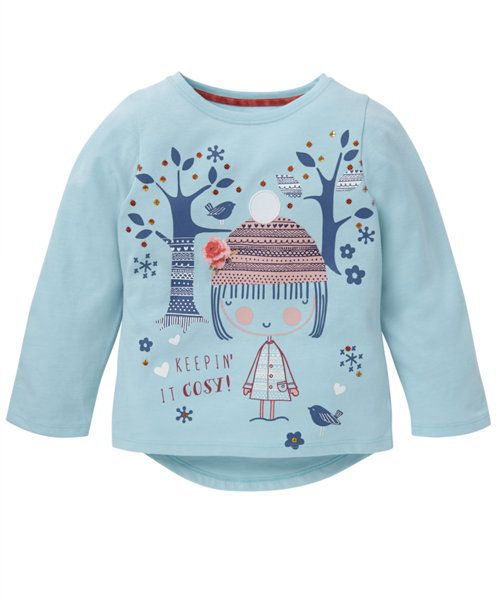 Mint Graphic T-Shirt - t-shirts - Mothercare  55a94fc86