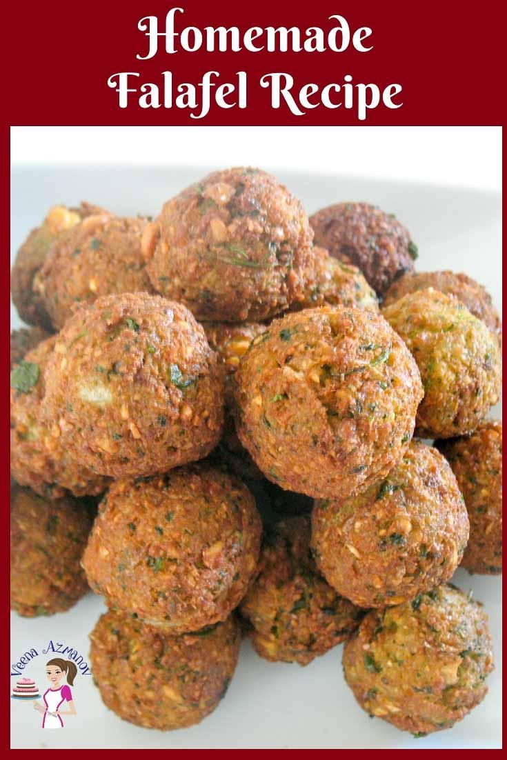 The Israeli homemade falafel recipe is the best street ...