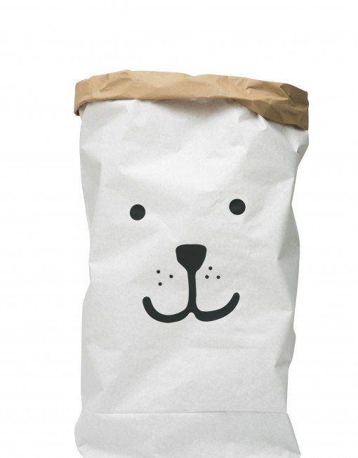 Paper Storage Bag - Bear