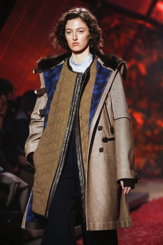 Hermès Fall 2018 Ready-to-Wear Fashion Show in 2018   Fall 2018 rtw ... b9f448bccca