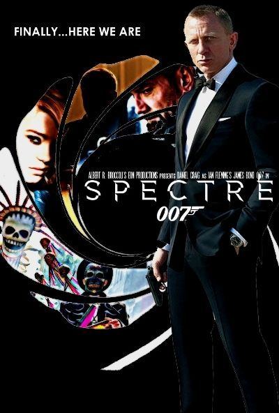 Spectre Posters Set 6 James Bond Movie Posters