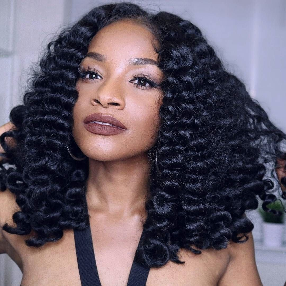 15 Easy Natural Protective Hairstyles For Summer | Real Beautiful | Curly crochet hair styles ...