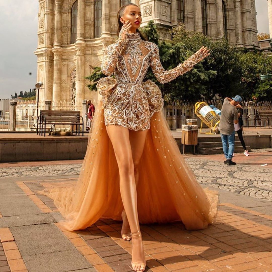 Celebrity Fashion Designer On Instagram Classic Royalty Prom 2020 Be Classic Feel Like Royalty We Embellished Gown Fashion African Prom Dresses