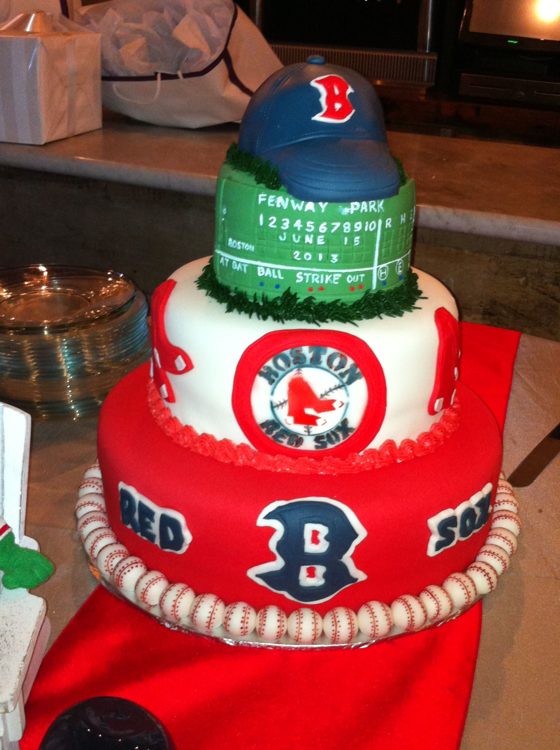 Boston Red Sox Grooms Cake By Jeff And Kathleen Taylor Of Sweet