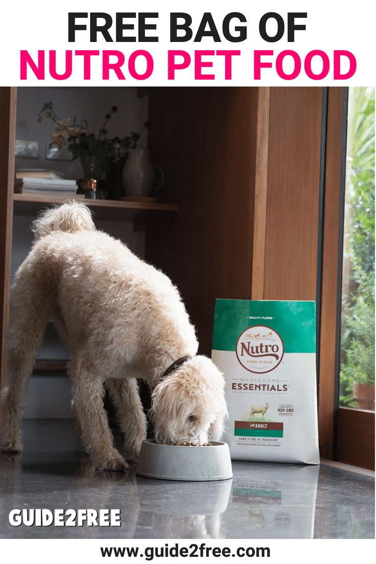 Free 4lb Bag Of Nutro Dog Food At Petco Nutro Dog Food Dog Food