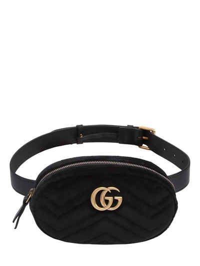 3aa56011ccb9 GUCCI SMALL GG MARMONT VELVET BELT PACK. #gucci #bags #belt bags #velvet #