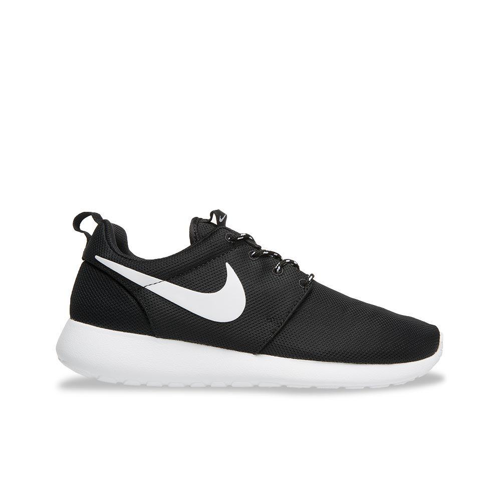 Nike Roshe Courir Entraînement Noir Blanc Volts