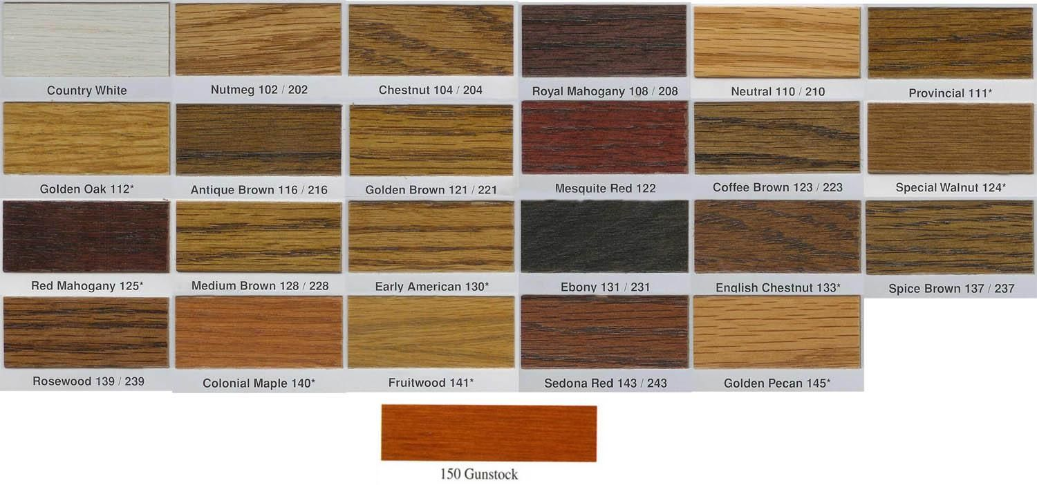 Wood Stain Colors Interior Seal Quick Coat Penetrating Finish Wood Stain Dura Seal Wood