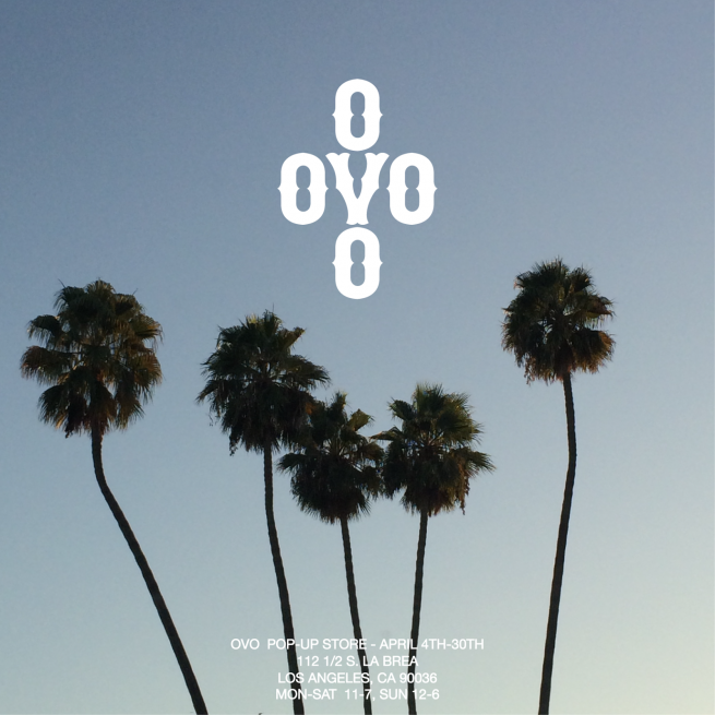 OVO To Hold PopUp Shop In Los Angeles Pop up shop, Pop