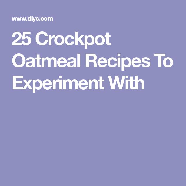25 Crock Pot Breakfast Recipes