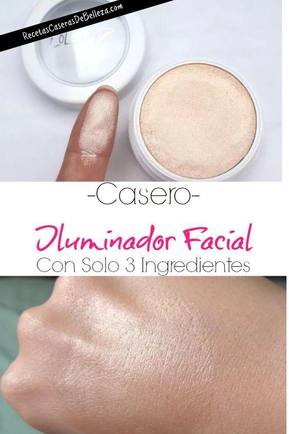 Photo of Iluminador Facial Casero Para Mejillas, Cejas Y Ojos