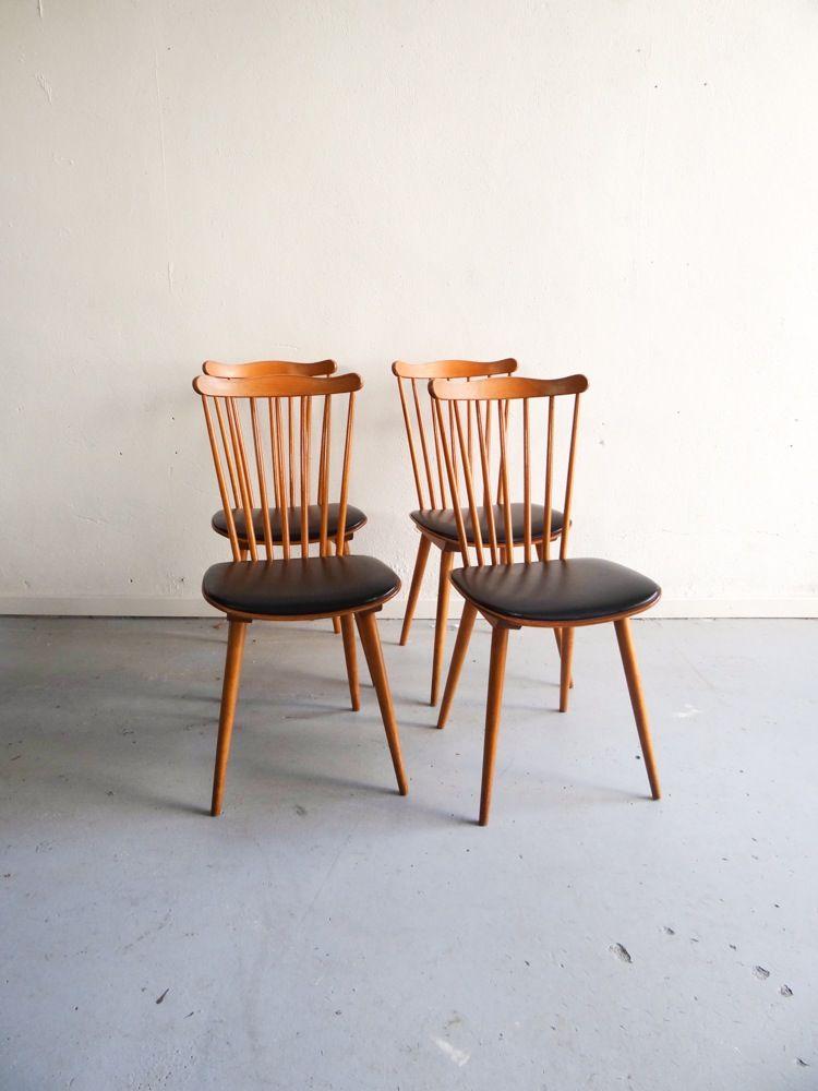 chaises Baumann assise skai 4 disponibles