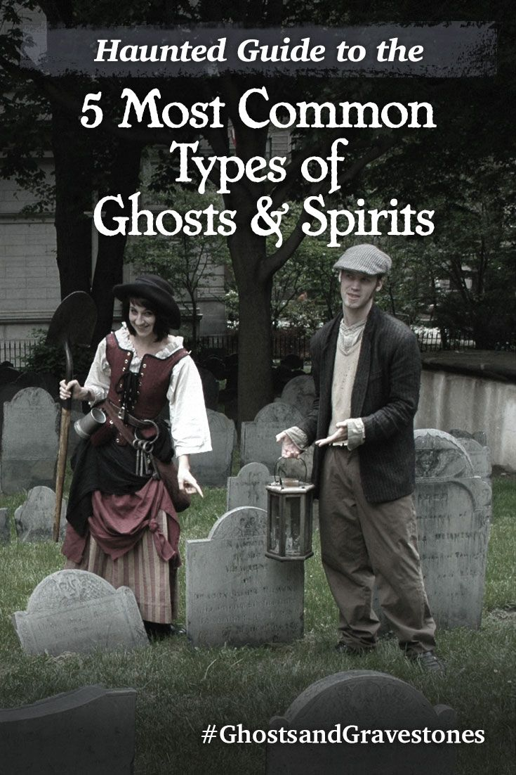 Haunted Guide To The Five Most Common Types Of Ghosts And Spirits Types Of Ghosts Spirit Ghost Scary Books