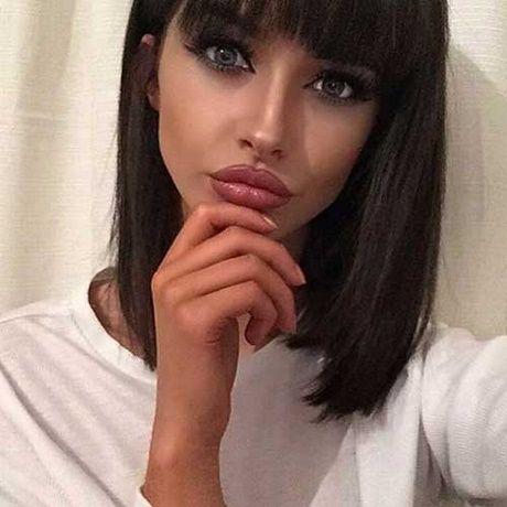Kurze schwarze Haare Frauen | Kurze schwarze haare