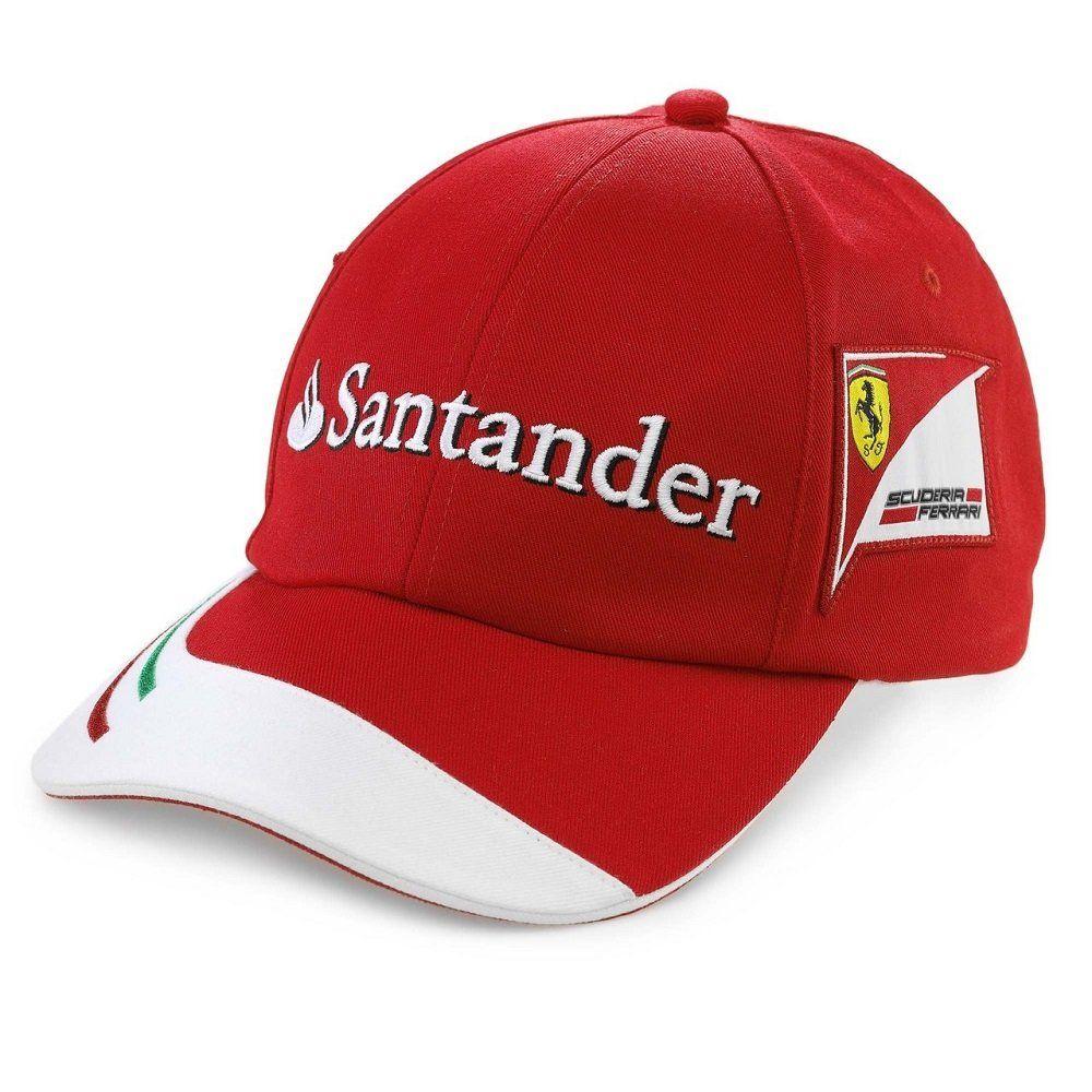 f1d10012211a4 Gorra+oficial+del+equipo+de+Fórmula+1+Scuderia+Ferrari