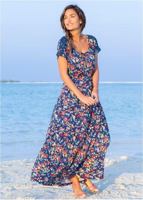 6bccec2d2839b7 Mooie jurk met korte mouwen en kanten details
