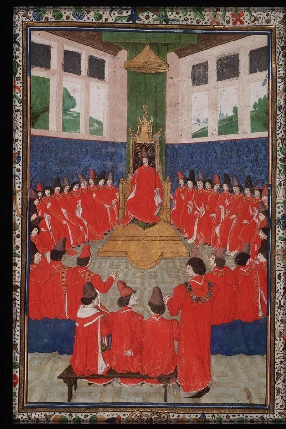 005v Assembly of the Order of the Golden Fleece presided over by Charles the Bold.