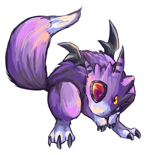 My Sister's Rookie Level Digimon, Dorumon.
