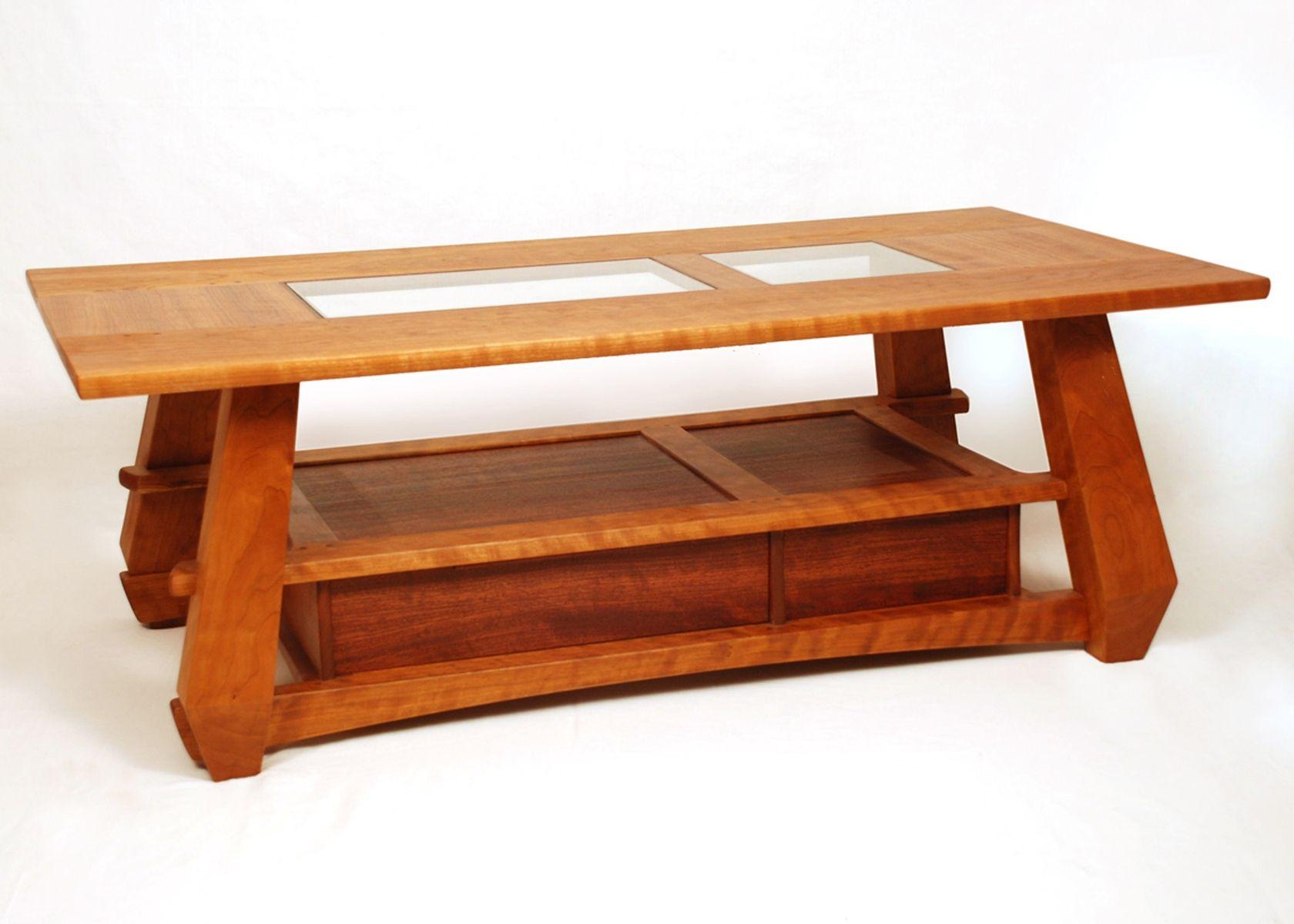 Custom Made Cherry Coffee Table Coffee Table Cherry Coffee